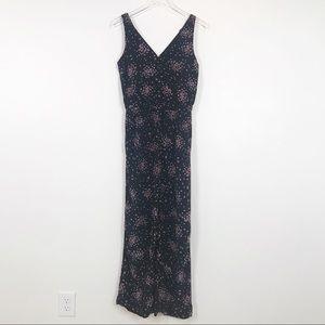Ann Taylor LOFT floral sleeveless jumpsuit